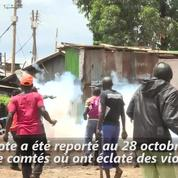 Élection au Kenya : échauffourées entre police et opposition