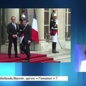 Alexis Brézet à propos de Macron : «Comme le disent les jeunes, Cazeneuve et Hollande sont vénères»