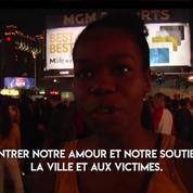 À Las Vegas, les lumières du Strip s'éteignent en hommage aux victimes de la fusillade