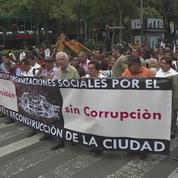 Séisme au Mexique : les habitants de Mexico dans la rue pour une meilleure reconstruction