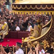 Brunei : le sultan fête en grande pompe 50 ans de règne