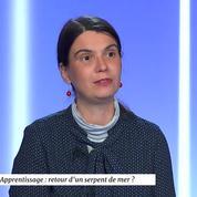 Cécile Crouzel : «L'apprentissage a reculé parmi les jeunes qui en ont le plus besoin»