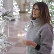 Melania Trump décore la Maison-Blanche pour Noël