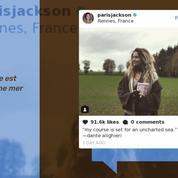 La fille de Michael Jackson se promène dans les rues de Rennes en jouant du ukulélé