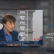 Recul sur le nucléaire : les réactions politiques à la décision de Nicolas Hulot