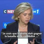 Valérie Pécresse : La droite doit gagner la bataille de la crédibilité, pas la bataille des décibels