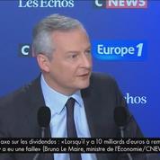 Bruno Le Maire estime qu'il faudra «deux ans» pour une «amélioration en profondeur» de l'emploi