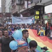 La communauté LGBT défile à Hong Kong pour plus d'égalité