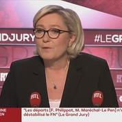Pour Marine Le Pen, LREM est «plus une secte qu'un parti politique»