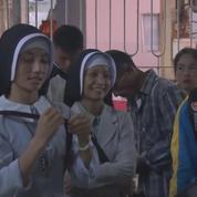 Birmanie : les fidèles arrivent à Rangoun pour la visite du Pape