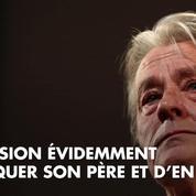 Alain Delon : Son fils Alain-Fabien le critique durement dans la presse