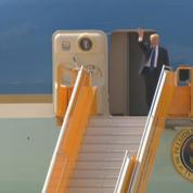 Donald Trump quitte la Chine pour le Vietnam