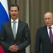 Poutine va s'entretenir de la Syrie avec Trump
