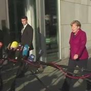 Merkel joue son avenir dans des pourparlers interminables