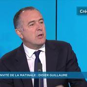 Didier Guillaume: «Je ne considère pas qu'Olivier Dussopt ou Jean-Yves Le Drian soient des traîtres»