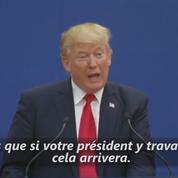Donald Trump appelle la Chine à soutenir la dénucléarisation de la Corée du Nord