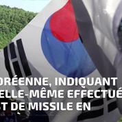 La Corée du Nord a effectué un nouveau tir de missile balistique