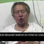 L'ancien président Fujimori demande «pardon» aux Péruviens