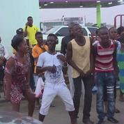 Au Liberia, les supporteurs de l'ancien footballeur George Weah célèbrent sa victoire