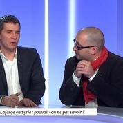 Jean-Marc Four à propos de Lafarge en Syrie «C'était aussi un moyen d'avoir une implantation sur place pour les services et surveiller les activités du groupe terroriste»
