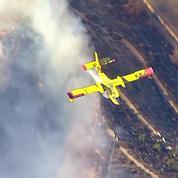 Un gigantesque feu ravage à nouveau la Californie