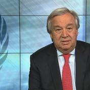 Le Secrétaire Général des Nations Unies souhaite paix, santé et unité pour le Nouvel An 2018