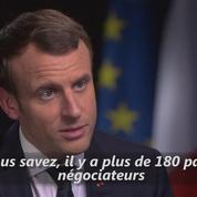Climat: Macron interpelle Trump sur sa