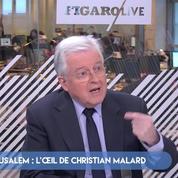 Jérusalem : l'oeil de Christian Malard, consultant diplomatique à i24 News