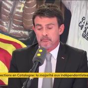 Manuel Valls : «L'agenda indépendantiste s'est heurté à un mur»