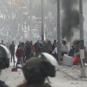 Les images de heurts entre manifestants palestiniens et policiers israéliens à Bethléem