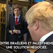 Boris Johnson sur Jérusalem : «Nous observons avec préoccupation» le projet de Donald Trump