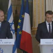 Macron demande à Nétanyahou un «geste courageux envers les Palestiniens»