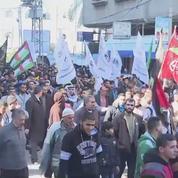 Funérailles d'un Palestinien tué par des tirs israéliens