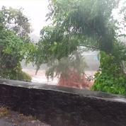 Tempête Berguitta : pluies intenses et cours d'eau en crue à la Réunion