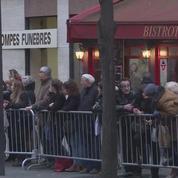 Inhumation de France Gall au cimetière Montmartre à Paris