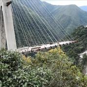 Au moins dix morts dans l'effondrement d'un pont en construction en Colombie