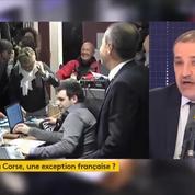 Jean-Guy Talamoni demande des «pouvoirs législatifs» pour «à peu près tout mis à parti les prérogatives régaliennes, pour l'instant»
