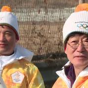 En Corée, la flamme olympique se rapproche de la zone démilitarisée