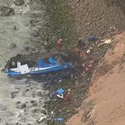 Pérou : La chute d'un autocar entraine la mort d'au moins 48 personnes