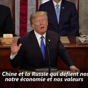 Donald Trump défend sa «juste mission» devant le Congrès