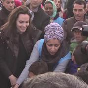 Angelina Jolie appelle le Conseil de sécurité de l'ONU à visiter des camps de réfugiés syriens