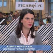 FOCUS-« Les entreprises vont peu profiter des baisses d'impôts »