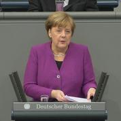 Merkel appelle à faire cesser le massacre en Syrie