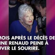 Line Renaud très affectée par la mort de Johnny Hallyday: Brigitte Macron lui rend visite