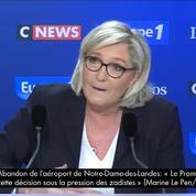 Marine Le Pen : «Je proposerai un nom pour changer le Front national»