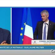 Guillaume Peltier (LR) sur l'enregistrement de Laurent Wauquiez : «Les propos tronqués ne reflètent pas sa pensée»