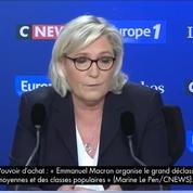 Marine Le Pen sur son père : «Toutes ces provocations visent à exister... et bien qu'il existe !»