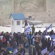 Grèce : la foule se rassemble à Athènes contre le compromis sur le nom de la Macédoine