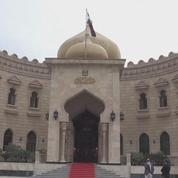 Le Drian rencontre le président irakien à Bagdad