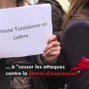 Tunisie : colère chez les journalistes